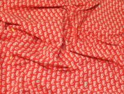 Lady McElroy Cotton Jersey Knit Fabric  Coral