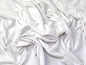 Lady McElroy High Stretch Jersey Knit Fabric  White