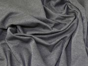 Lady McElroy Ponte Roma Knit Fabric  Marl Grey