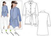 Style Arc Ladies Sewing Pattern Juliet Woven Shirt