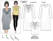 Style Arc Ladies Sewing Pattern Lucy Knit Dress