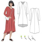 Style Arc Sewing Pattern Eden Knit Dress