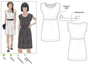 Style Arc Ladies Sewing Pattern Olivia Dress