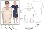 Style Arc Ladies Sewing Pattern Adeline Dress