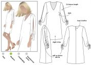 Style Arc Ladies Sewing Pattern Marilyn Dress