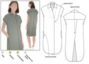 Style Arc Ladies Sewing Pattern Autumn Dress