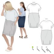 Style Arc Sewing Pattern Eme Dress