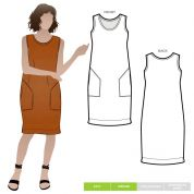Style Arc Sewing Pattern Iris Dress