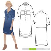Style Arc Sewing Pattern Murphy Dress