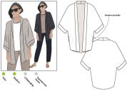 Style Arc Ladies Sewing Pattern Besharl Jacket