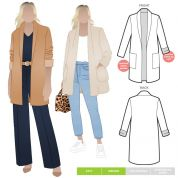 Style Arc Sewing Pattern Loren Jacket
