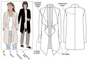 Style Arc Ladies Easy Sewing Pattern Estelle Jacket