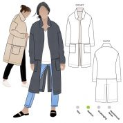 Style Arc Sewing Pattern Parker Coat