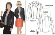 Style Arc Ladies Sewing Pattern Ziggy Jacket
