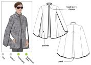 Style Arc Ladies Sewing Pattern Nell Cape