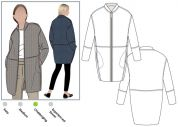 Style Arc Sewing Pattern Casey Coat