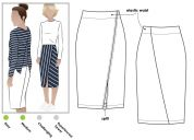 Style Arc Ladies Sewing Pattern Taylor Knit Skirt