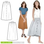 Style Arc Sewing Pattern Bonnie Skirt
