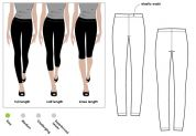 Style Arc Ladies Easy Sewing Pattern Laura Knit Leggings