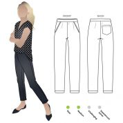 Style Arc Sewing Pattern Parker Ponte Pants