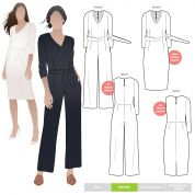 Style Arc Sewing Pattern Brice Jumpsuit