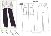 Style Arc Ladies Sewing Pattern Daisy Pants