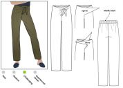 Style Arc Ladies Sewing Pattern Trudy Pants