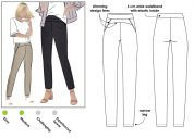 Style Arc Sewing Pattern Sage Stretch Pant