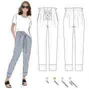 Style Arc Sewing Pattern Tully Pants