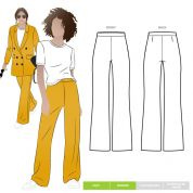 Style Arc Sewing Pattern McKenzie Pants