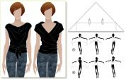 Style Arc Ladies Sewing Pattern Simply Sally Top