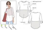 Style Arc Ladies Sewing Pattern Annika Top