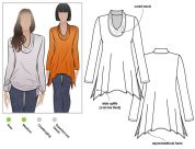 Style Arc Ladies Sewing Pattern Amy Knit Top