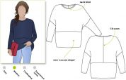 Style Arc Ladies Sewing Pattern Sunny Knit Top