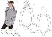 Style Arc Ladies Sewing Pattern Josie Hoodie