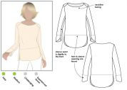 Style Arc Ladies Sewing Pattern Savannah Knit Top