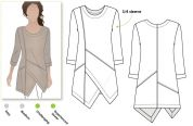Style Arc Ladies Sewing Pattern Lani Tunic Top