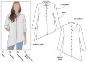Style Arc Ladies Sewing Pattern Crystal Overshirt