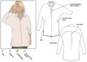Style Arc Ladies Sewing Pattern Trudy Tunic Top