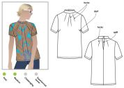 Style Arc Ladies Sewing Pattern Dimity Woven Top