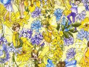 Michael Millar Day Fairies Poplin Quilting Fabric