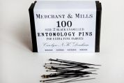 0.45mm Merchant & Mills Entomology Pins 38mm  Black