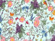 Michael Millar At The Conservatory Poplin Quilting Fabric