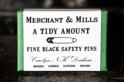 Merchant & Mills Safety Pins 23mm  Black