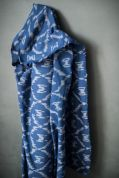 Merchant & Mills Cotton Ikat Fabric  Blue
