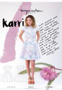 Megan Nielsen Ladies Sewing Pattern 2002 Karri Dress
