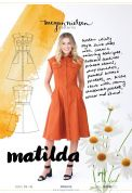 Megan Nielsen Ladies Sewing Pattern 2005 Matilda Shirt Dress