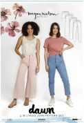 Megan Nielsen Sewing Pattern Dawn Jeans (4 in 1)
