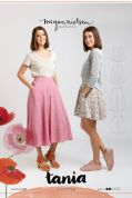 Megan Nielsen Ladies Easy Sewing Pattern 2203 Tania Culottes