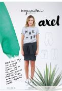 Megan Nielsen Ladies Easy Sewing Pattern 2207 Axel Skirt